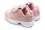 Кроссовки женские  Fila Disruptor, розовые (14252) размеры в наличии ► [  38 39  ], фото 8