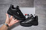 Кроссовки женские  Fila Disruptor II Black, черные (14411) размеры в наличии ► [  36 37  ], фото 2