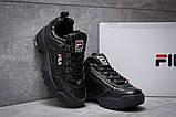 Кроссовки женские  Fila Disruptor II Black, черные (14411) размеры в наличии ► [  36 37  ], фото 3
