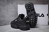 Кроссовки женские  Fila Disruptor II Black, черные (14411) размеры в наличии ► [  36 37  ], фото 4