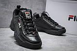 Кроссовки женские  Fila Disruptor II Black, черные (14411) размеры в наличии ► [  36 37  ], фото 5