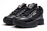 Кроссовки женские  Fila Disruptor II Black, черные (14411) размеры в наличии ► [  36 37  ], фото 7