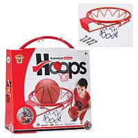 Баскетбольное кольцо (диам. 39см) красное M 1952
