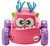 Машинка-монстрик Fisher Price Нажимай и запускай DRG16 Press 'N Go Monster Truck розовый