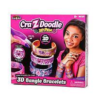 Набор  3Д ручка Cra-Z-Doodle 3D Pen Bangle Bracelets