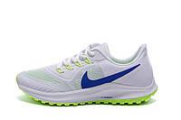 Мужские летние кроссовки сетка Nike AIR Max White (реплика), фото 1