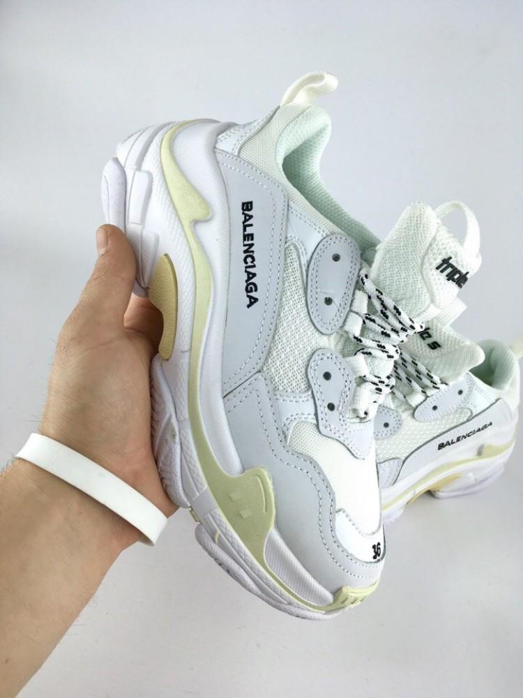 Balenciaga Triple-S white