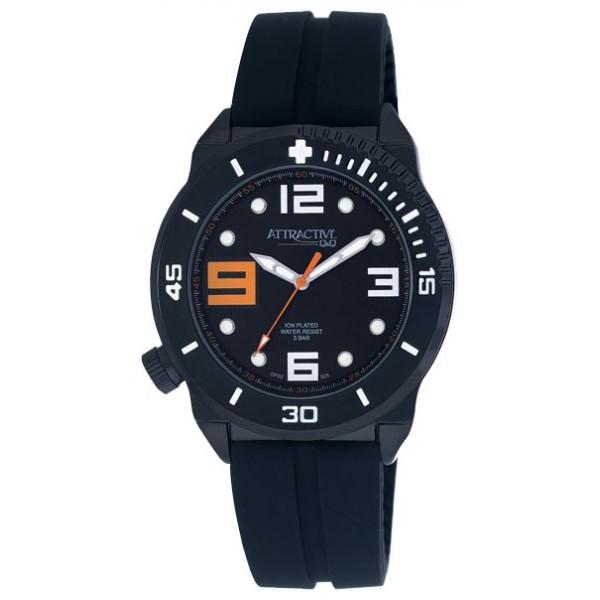 Мужские часы Q&Q DF02J525Y