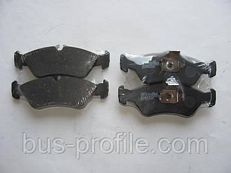 Задние колодки (с молоточками) на MB Sprinter 308-316, VW LT 35 1996-2006 — Wender Parts (Турция) — 21592 18.8