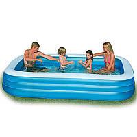 Надувной бассейн детский Intex 58484 Семейный, 305 х 183 х 56 см, объем 1092 литра.