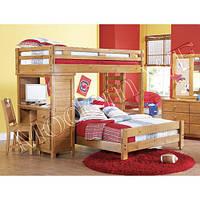 """Двох'ярусне ліжко дитяча """"Остін"""" з дерева"""