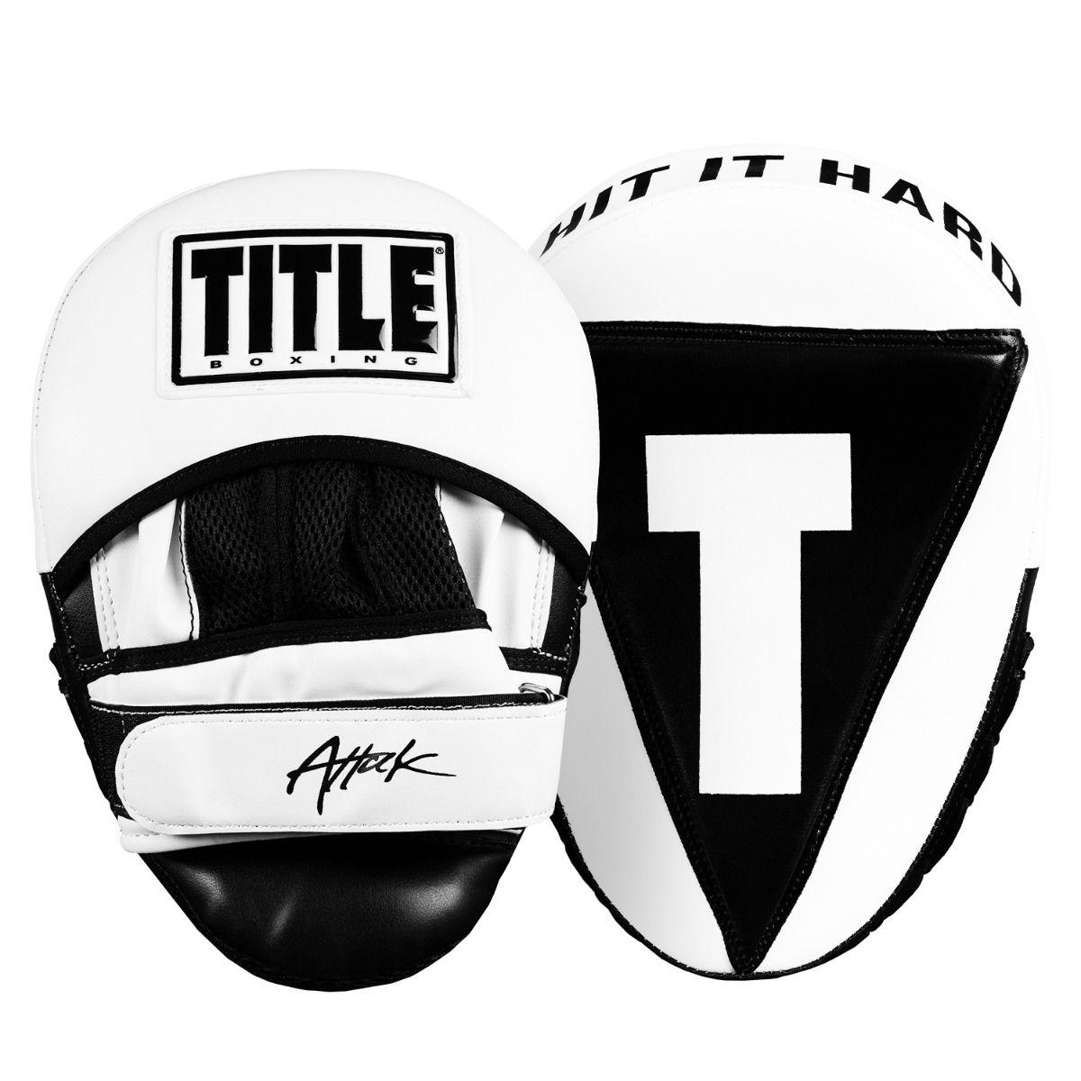 Лапы Title Attack Big-T Punch Mitts