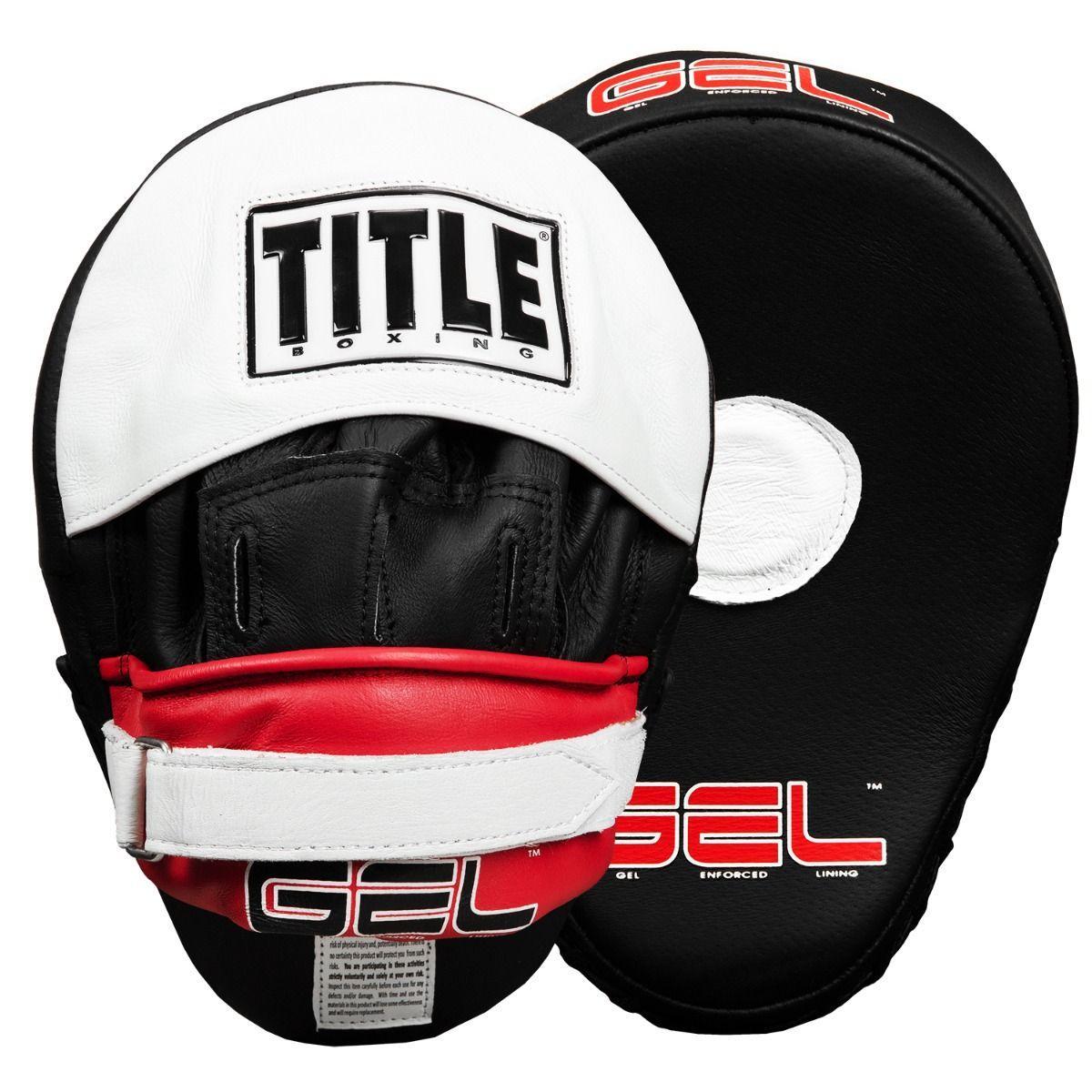 Лапы Title Gel World Contoured Punch Mitts