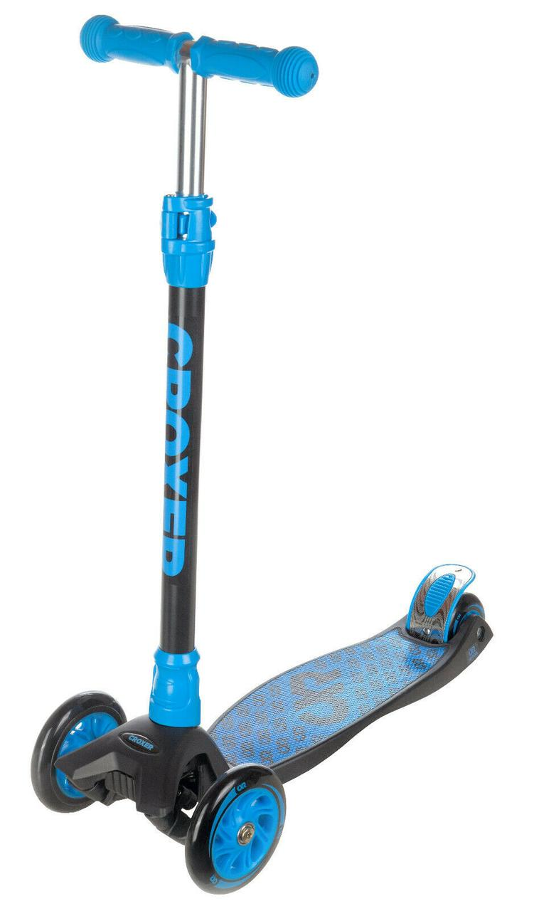 Самокат трехколесный Croxer Luke Maxi синий