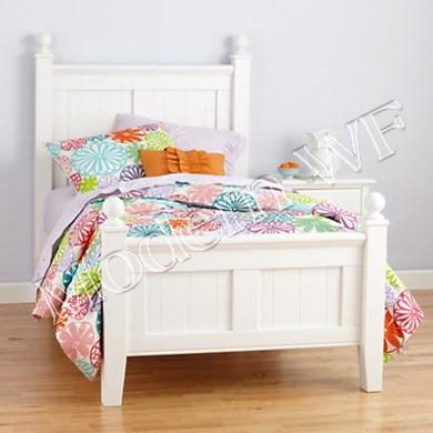 """Ліжко дитяче """"Валден"""" з натурального дерева"""