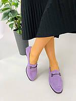 Жіночі туфлі лофери замшеві 36, 39 +video