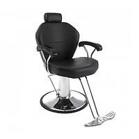 Кресло мужское парикмахерское Marcelo парикмахерское кресло для барбершопа, с подголовником для бровиста