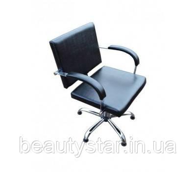 Перукарське крісло для клієнтів салону краси, комплектуючі виробництва Польща модель Хеліо (Helio)
