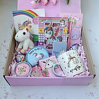 """Подарок для девочки от 3 до 12 лет на День Рождения.Набор """"Единорожек"""" для внучки, дочки, сестрички, подружки."""