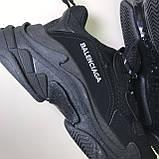 Кроссовки Balenciaga Triple S Full Black, фото 5