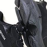 Кроссовки Balenciaga Triple S Full Black, фото 6