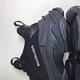 Кроссовки Balenciaga Triple S Full Black, фото 8