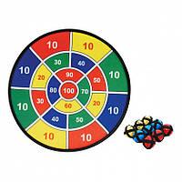 Развивающая игра Дартс на липучке (М1086)