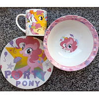 Набор детский из 3-х предметов Пони 10314
