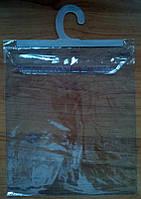 Пакет ПВХ с подвесом (вешалкой)