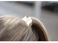 Резинка для волос металлическая золото, фото 1