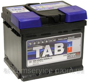 Аккумулятор автомобильный TAB Polar S 45AH R+ 420A (246045)