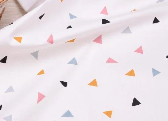 Сатин-твил Треугольники (комп. к Крокодилам)