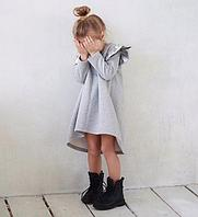 Платье для девочки и мамы ассиметрия 24-60 размер