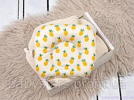 """Подушка для новонароджених """"Ананас"""""""