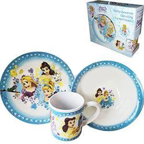 Набір дитячий з 3-х предметів Принцеси