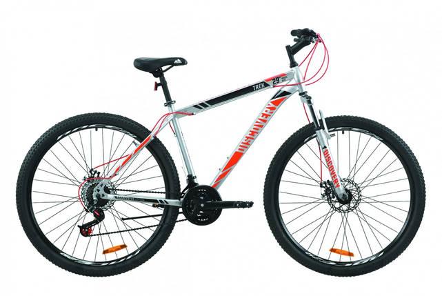 "Велосипед ST 29"" Discovery TREK AM DD 2020 (серый с красным), фото 2"