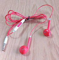 Наушники-вкладыши с микрофоном mini jack 3.5 мм, фото 1