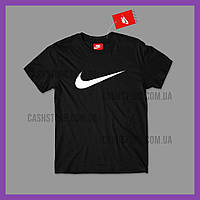 Футболка Nike 'Swoosh' с биркой | Найк | Черная