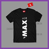 Футболка Nike 'Air Max Tee' с биркой | Найк | Черная
