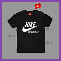 Футболка Nike 'Sportswear' с биркой | Найк | Черная