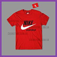 Футболка Nike 'Sportswear' з биркою   Найк   Червона