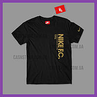 Футболка Nike 'F.C. Foil Tee' с биркой | Найк | Черная