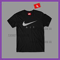 Футболка Nike 'Swoosh Air Metallic Graphic' с биркой | Найк | Черная