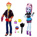 Набор кукол Monster High Хит Бёрнс и Эбби (Abbey Bominable & Heath Burns) Монстер Хай Школа монстров, фото 8