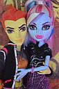 Набор кукол Monster High Хит Бёрнс и Эбби (Abbey Bominable & Heath Burns) Монстер Хай Школа монстров, фото 3