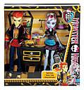 Набор кукол Monster High Хит Бёрнс и Эбби (Abbey Bominable & Heath Burns) Монстер Хай Школа монстров, фото 10