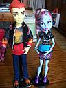 Набор кукол Monster High Хит Бёрнс и Эбби (Abbey Bominable & Heath Burns) Монстер Хай Школа монстров, фото 7