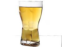 Стеклянный стакан в виде мужского торса Male torso 400 мл 400 мл