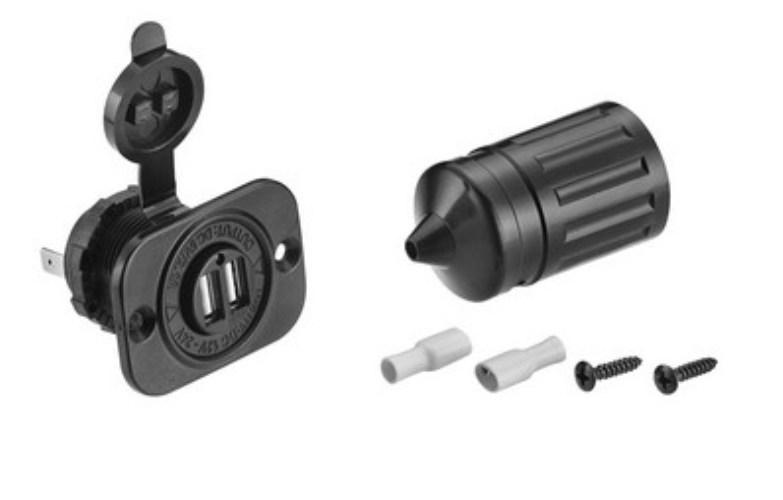 USB гнездо C3032 1A+2A