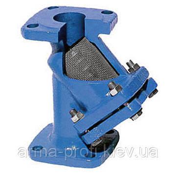 Фильтр чугунный фланцевый осадочный Ду150 Ру16 (Китай)